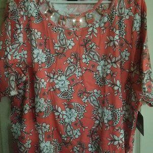 Rafaella Sportswear Cotton Blouse